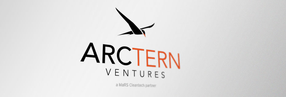 Cleantech web design for Arctern Ventures