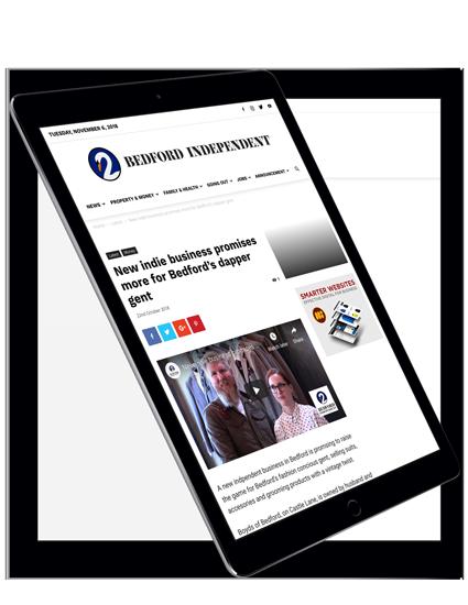 Hyper-local News Website