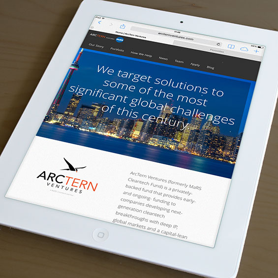 arctern-ventures-cleantech-responsive-website-design