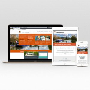 responsive travel website design
