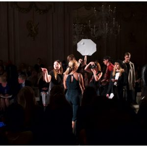 creative event photo of fashion event