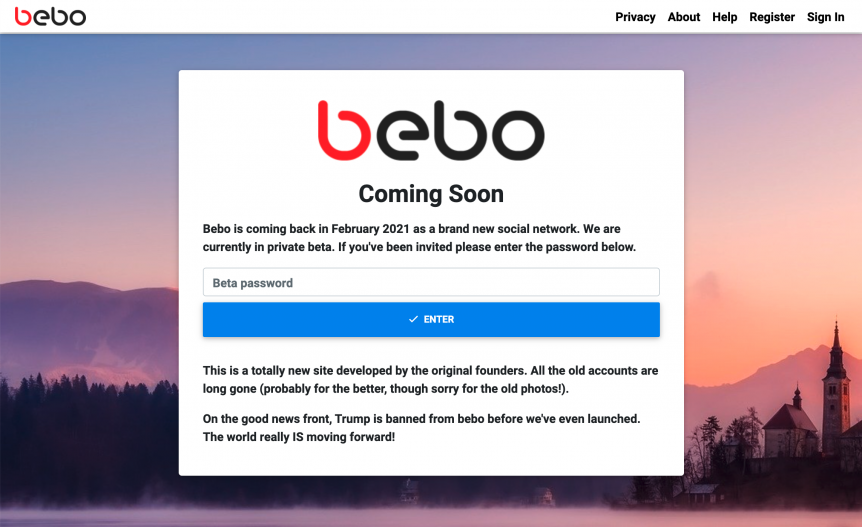 Bebo social network is coming back